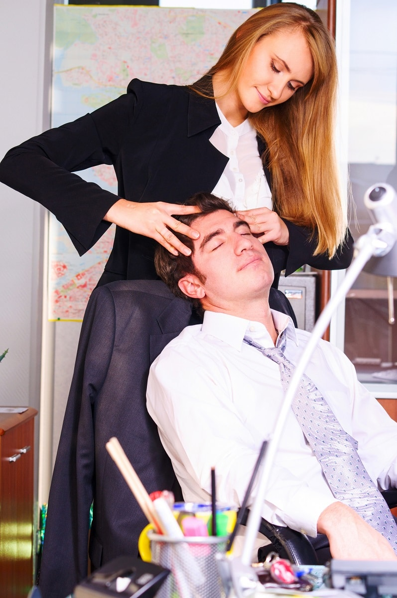 why chair massage is beneficial